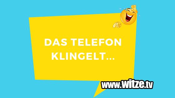 Das Telefon Klingelt Lustige Witze Coole Spruche Witze Tv