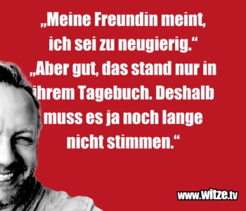 """""""Meine Freundin meint…"""