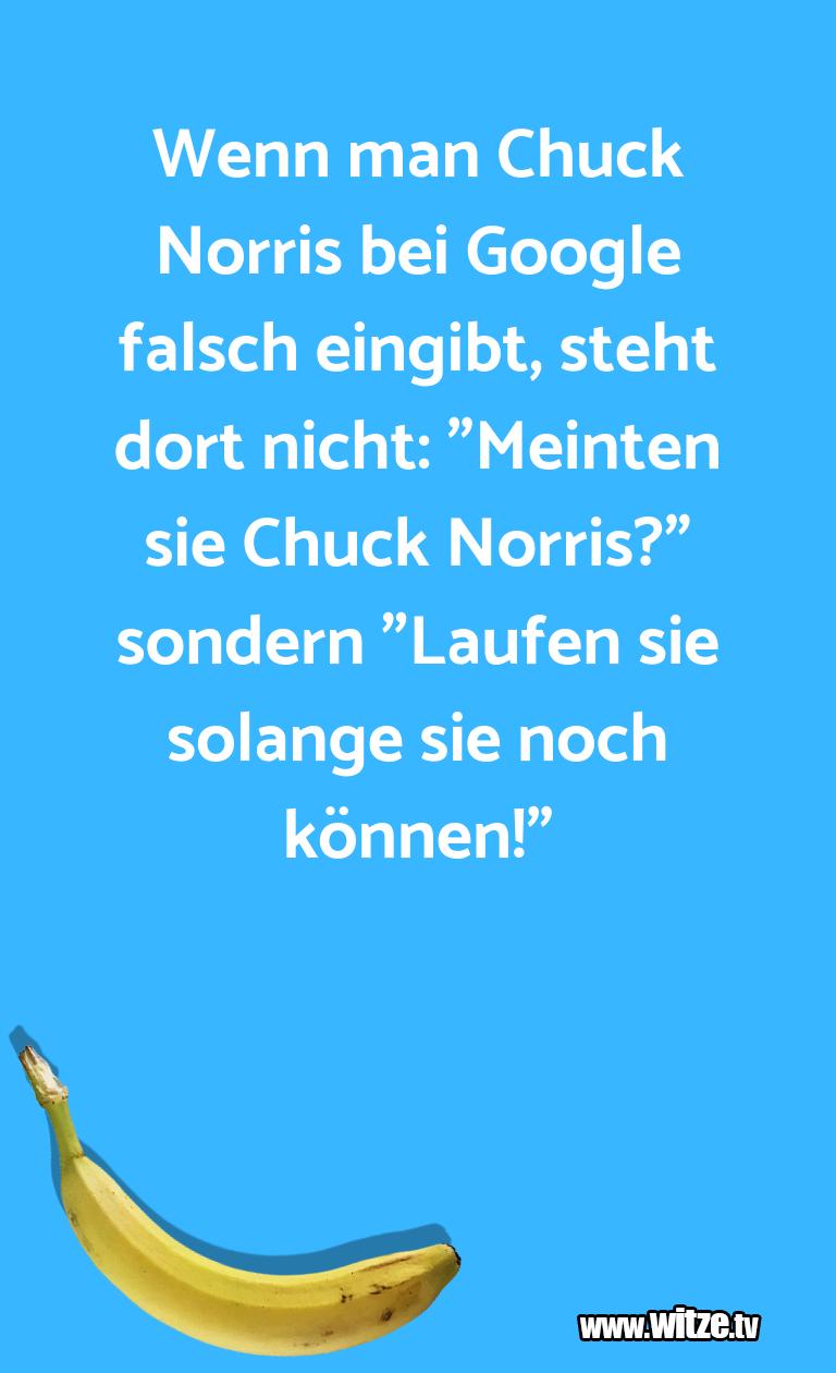 Clown Witze!... Wenn man Chuck Norris bei Google falsch eingibt, s…