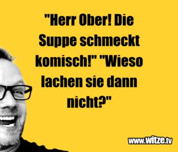 Herr Ober! Die…