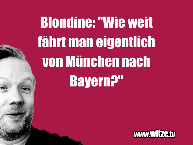 Blondine Wie Weit Lustige Witze Und Sprüche