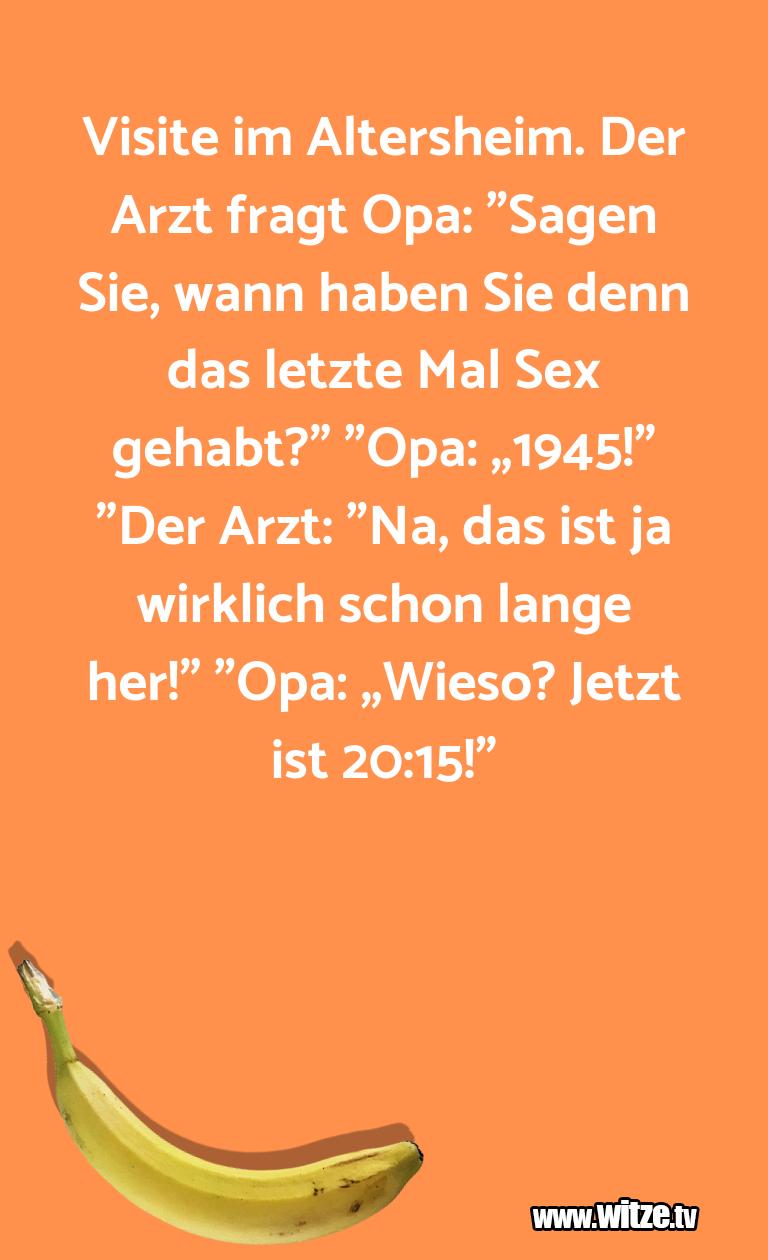 Visite Im Altersheim Lustige Witze Coole Spruche Witze Tv