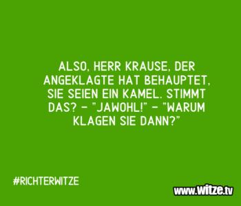 Also, Herr Krause…