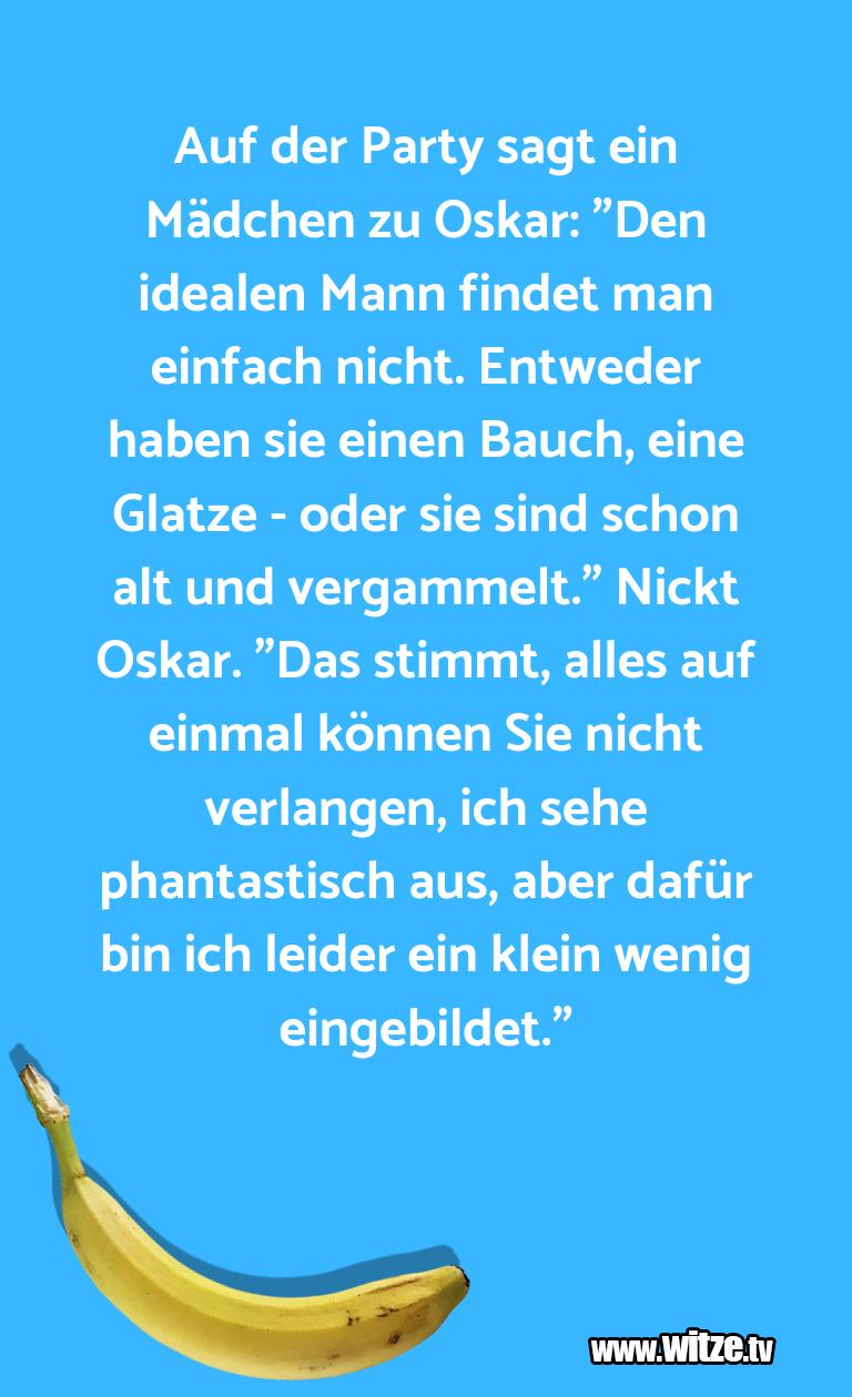 """Erfindergeist oder doch nur Scharbernack...Auf der Party sagt ein Mädchen zu Oskar: """"Den idea…"""