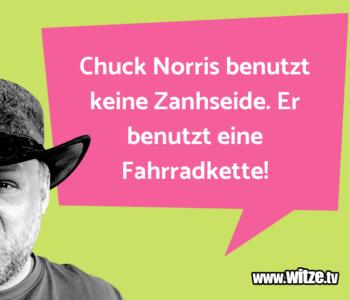 Chuck Norris benutzt…