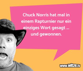 Chuck Norris hat…