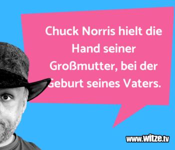 Chuck Norris hielt…