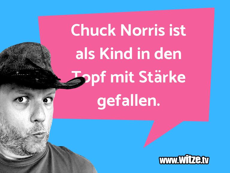 Erfindergeist oder doch nur Scharbernack...Chuck Norris ist als Kind in den Topf mit Stärke g…