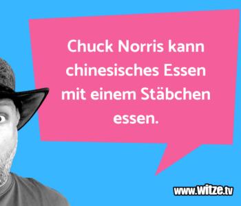 Chuck Norris kann…