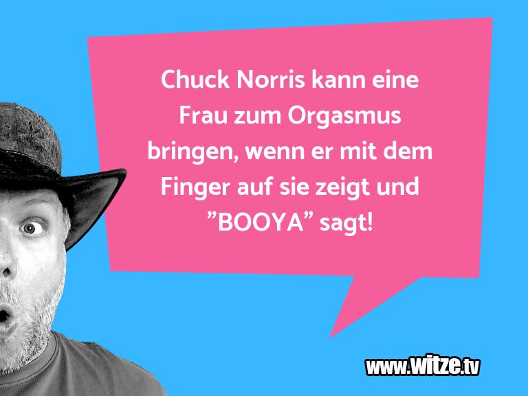 Clown Witze!... Chuck Norris kann eine Frau zum Orgasmus bringen, …