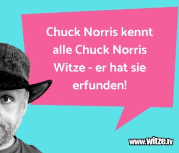 Chuck Norris kennt…
