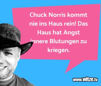 Chuck Norris kommt…