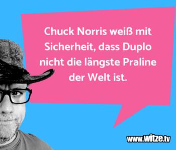 Chuck Norris weiß…