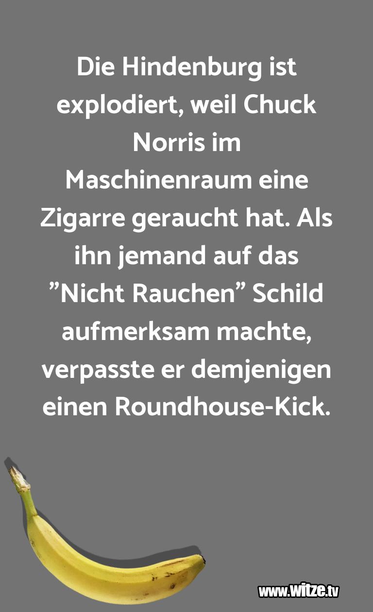 Erfindergeist oder doch nur Scharbernack...Die Hindenburg ist explodiert, weil Chuck Norris i…