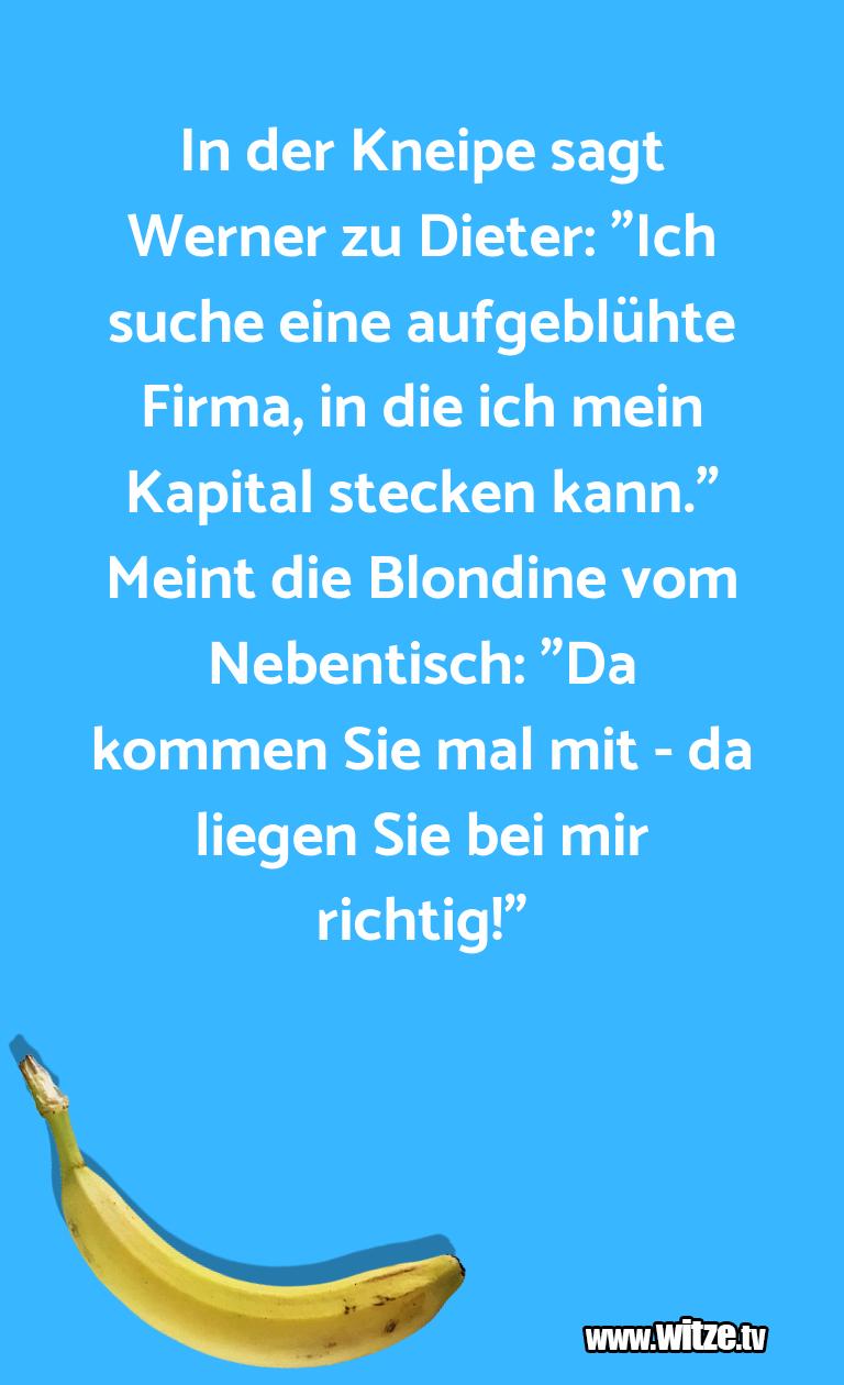 """Hammer Joke... In der Kneipe sagt Werner zu Dieter: """"Ich suche ei…"""
