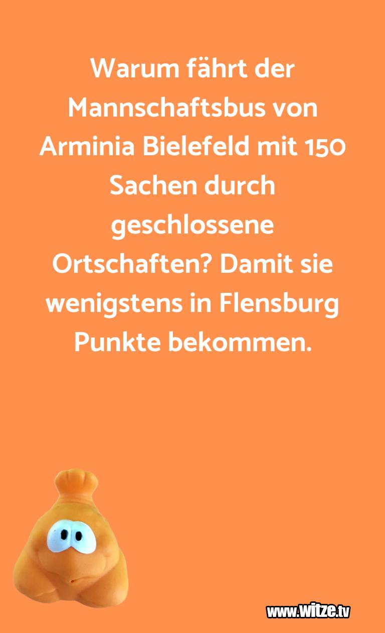 Geistesblitz zu… Warum fährt der Mannschaftsbus von Arminia Bielefe…