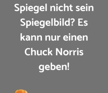 Warum sieht Chuck…