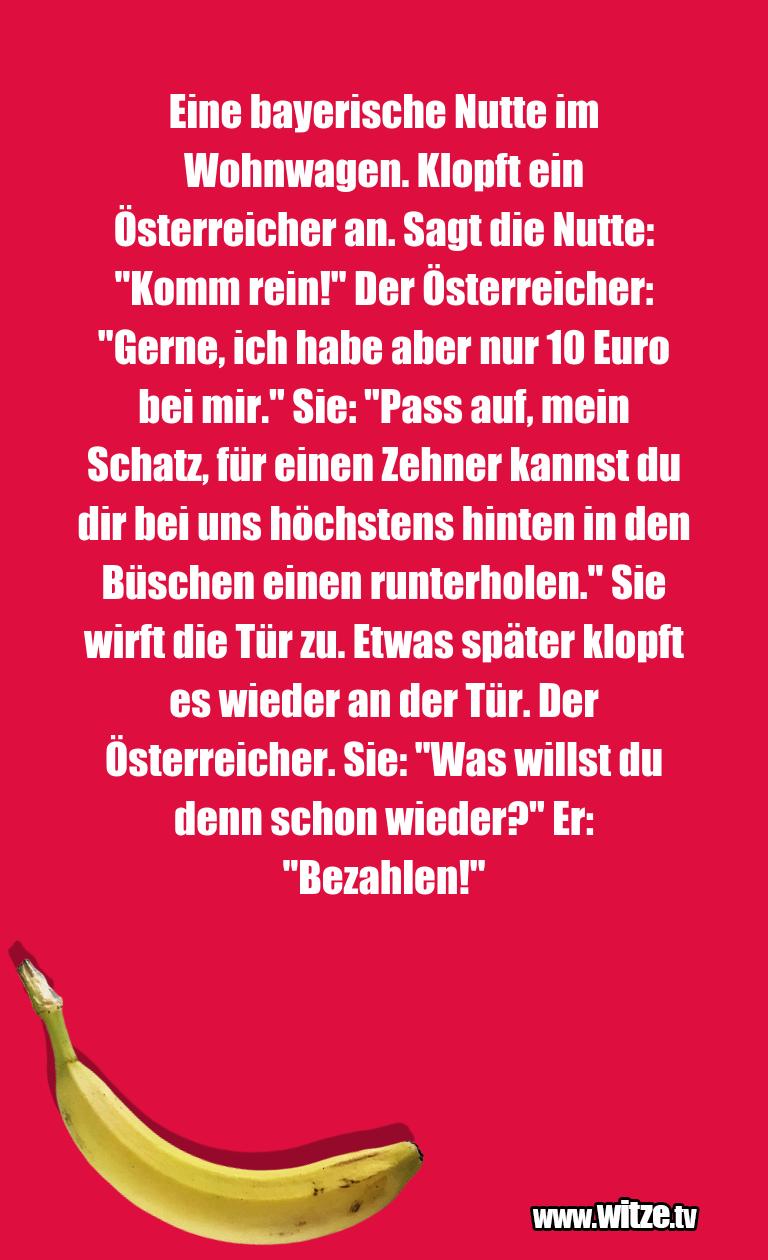 Eine Bayerische Nutte Lustige Witze Und Spruche
