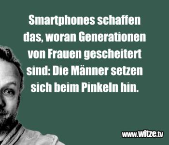 Smartphones schaffen das…