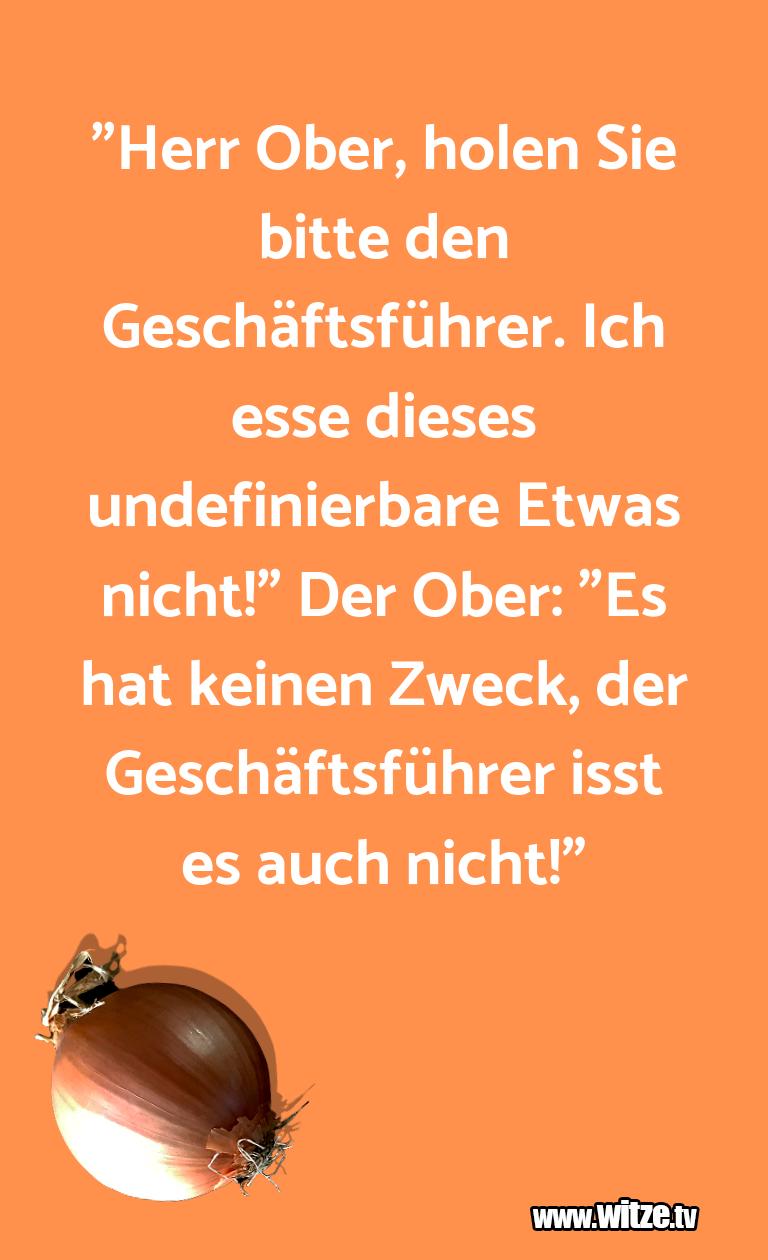 """Hammer Joke... """"Herr Ober, holen Sie bitte den Geschäftsführer. I…"""