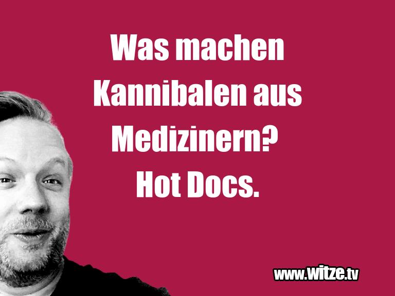 Geistesblitz zu… Was machen Kannibalen aus Medizinern? Hot Docs.…