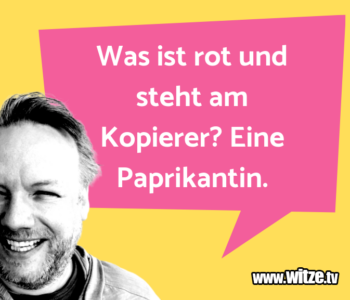 Was ist rot…