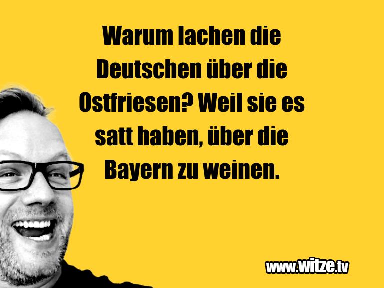 Witz über… Warum lachen die Deutschen über die Ostfriesen? We…