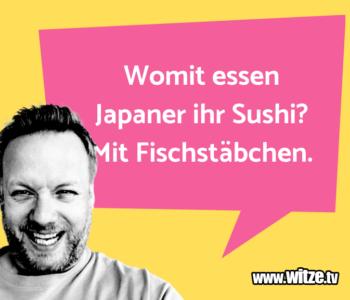Womit essen Japaner…