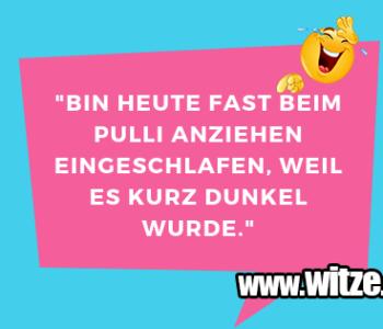 """""""Bin heute fast…"""