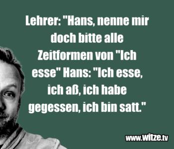 """Lehrer: """"Hans, nenne…"""