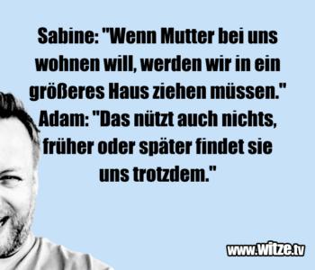 """Sabine: """"Wenn Mutter…"""