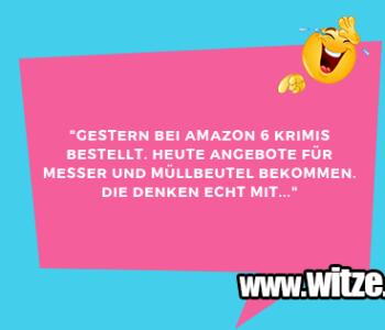 """""""Gestern bei Amazon…"""