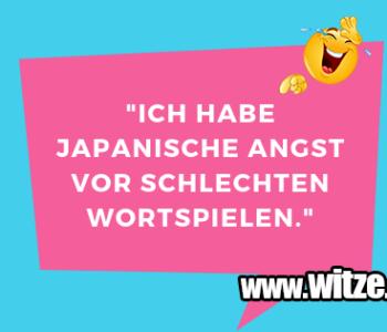 """""""Ich habe japanische…"""