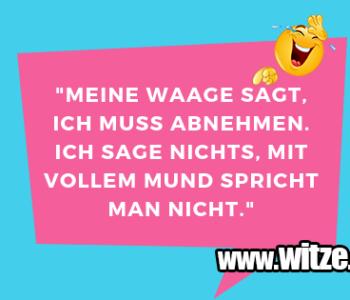 """Meine Waage sagt…"
