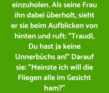 Der Bauer Franz…