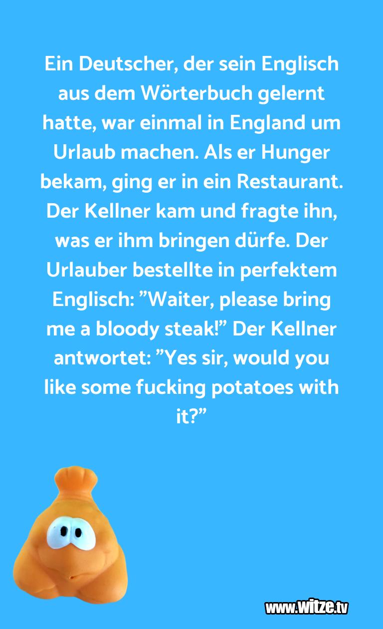 LustigeAnspielung… EinDeutscher,dersein…