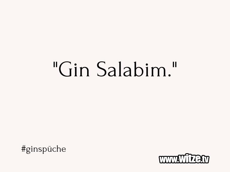 """WaseinJux... """"GinSalabim."""""""