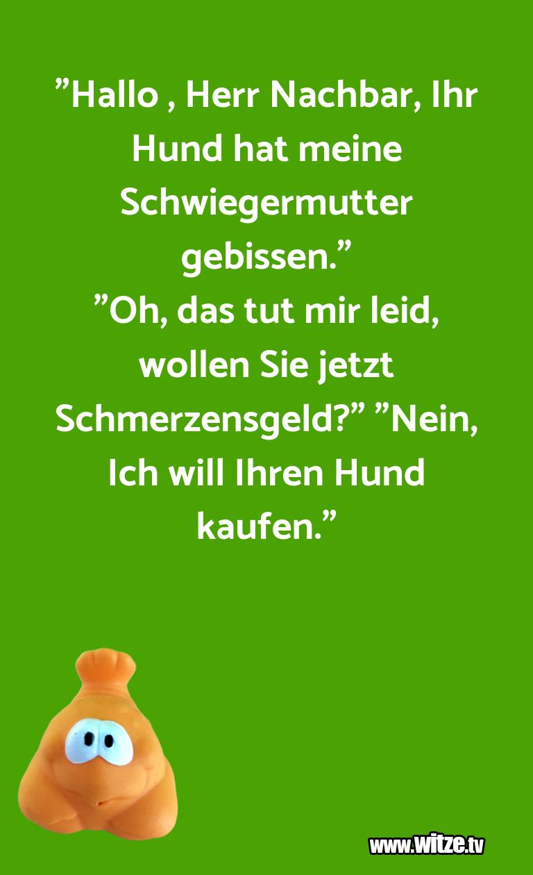 """WaseinJux... """"Hallo,HerrNachbar,I…"""