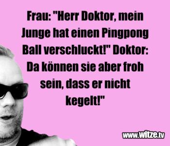 """Frau: """"Herr Doktor…"""
