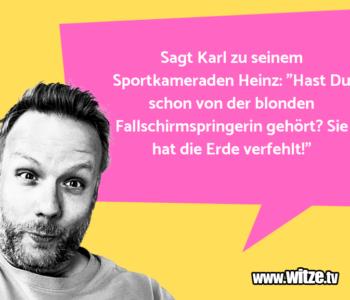Sagt Karl zu…
