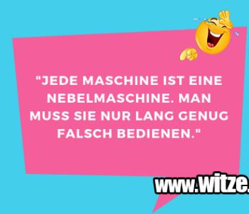 """""""Jede Maschine ist…"""