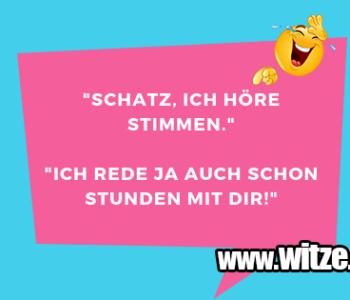 """""""Schatz, ich höre…"""