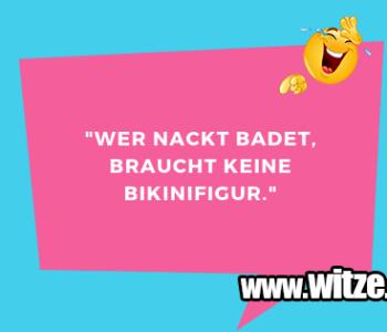 """""""Wer nackt badet…"""