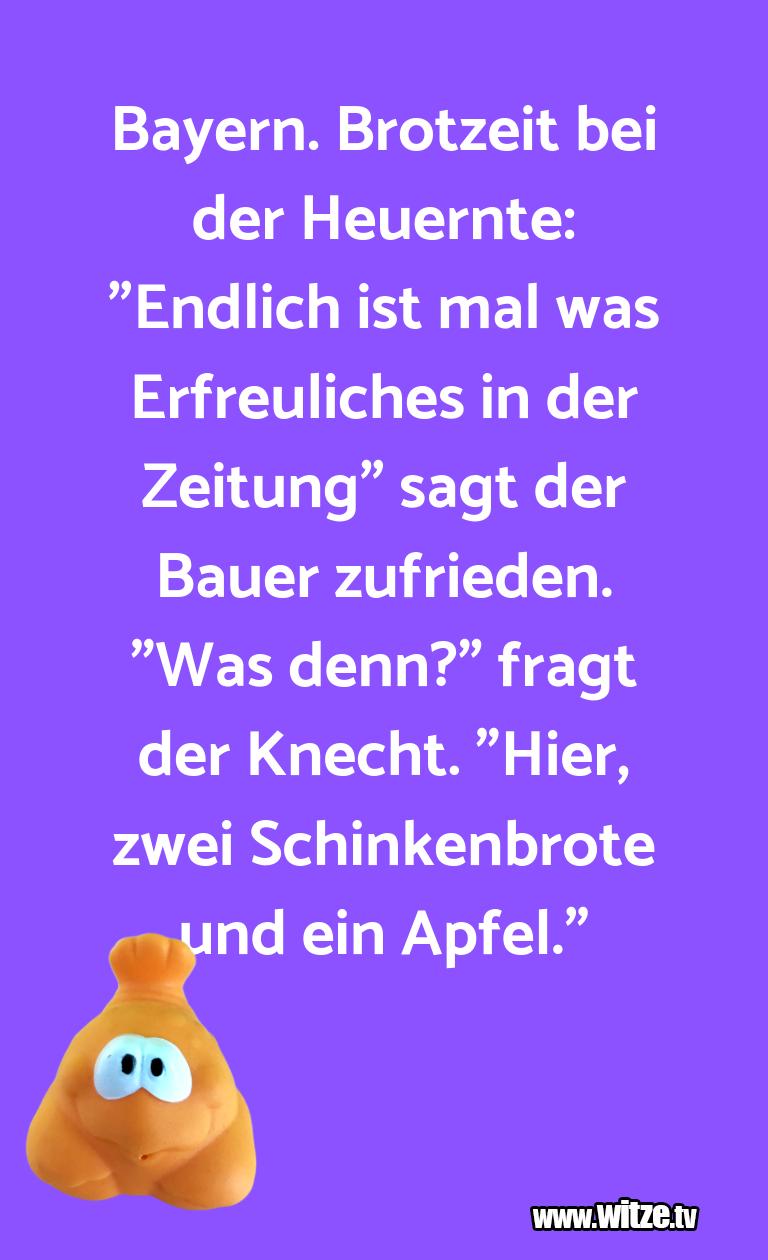Bayern Brotzeit Bei Lustige Witze Und Spruche