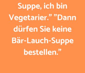 """""""Herr Ober, da…"""