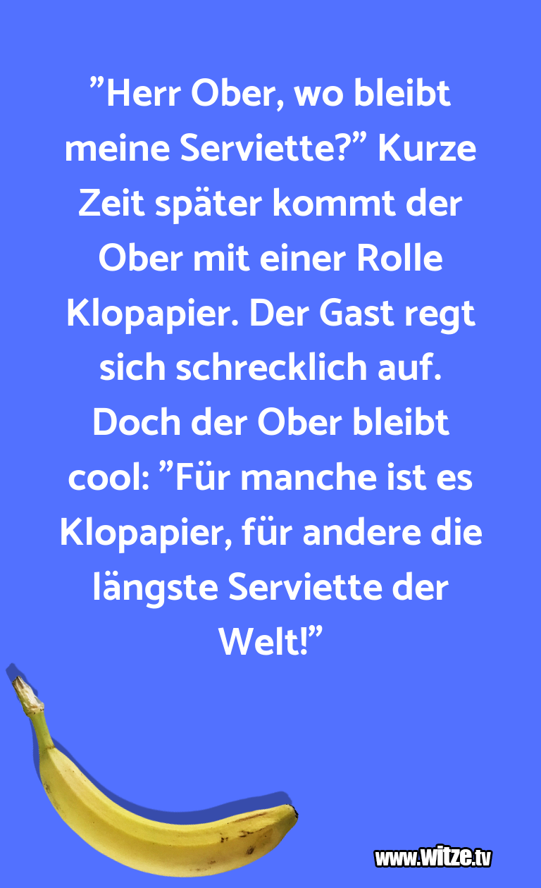 """LustigeAnspielung… """"HerrOber,wobleibtme…"""