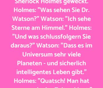 Sherlock Holmes und…