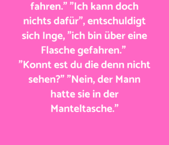 "Manfred schimpft: ""Nun…"