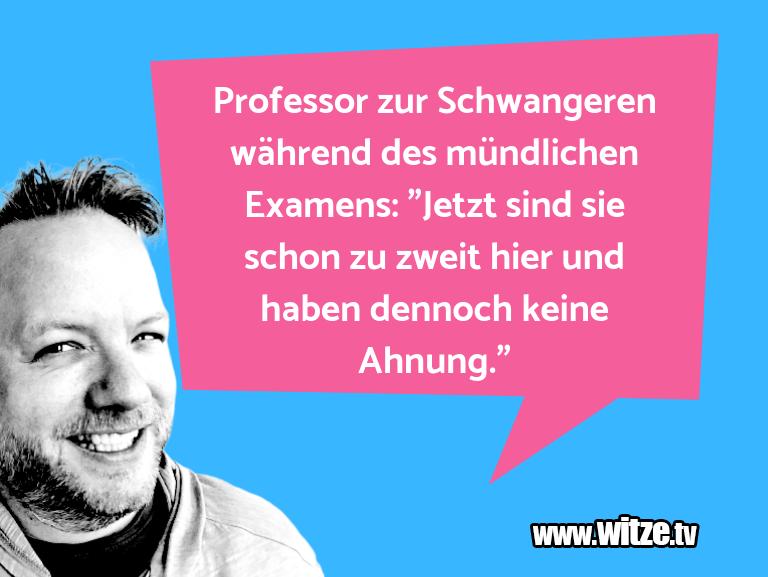 NurUnsinn… ProfessorzurSchwangere…