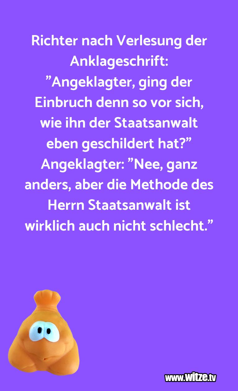 """Geisteshaltung oder Schabernack… Richter nach Verlesung der Anklageschrift: """"Angekl…"""